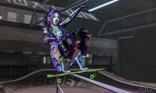 SK8R CHICK