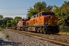 BNSF 8095 | GE ES44C | BNSF Thayer South Subdivision (M.J. Scanlon) Tags: bnsf750 bnsf8095 bnsfrailway bnsfthayersouthsubdivision business canon capture cargo commerce digital eos es44c4 engine freight ge haul horsepower image impression landscape locomotive logistics mjscanlon mjscanlonphotography memphis merchandise mojo move mover moving outdoor outdoors perspective photo photograph photographer photography picture rail railfan railfanning railroad railroader railway scanlon steelwheels super tennessee track train trains transport transportation view warbonnet wow ©mjscanlon ©mjscanlonphotography