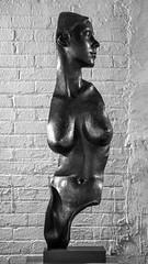 Partial (dayman1776) Tags: sony a6000 brookgreen gardens bronze sculpture statue escultura skulptur south carolina female nude figure figurative sensual breasts america usa garden black white bw monochrome