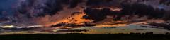 Corn Field Sunset.....[ in explore] (Diana Kae) Tags: sunset cornfield agriculture nikon beautiful orange purple clouds storm attheendoftheday missouri mowx kcwx kansascity dianakae dianaobryan dianawhite nature crop golden dramaticsky inexplore rural farming