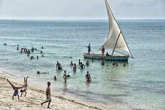 Beach on Mozambique Island.