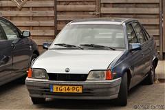 1990 Opel Kadett Sedan 1.6 Life (NielsdeWit) Tags: nielsdewit yg14pg ede opel kadett sedan c16nz 16 life actiemodel