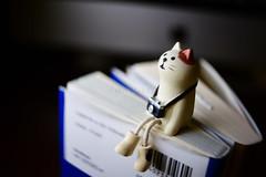 Take a break. (Akira.Tagawa_JPN)) Tags: akira tagawa アキラ タガワ cat figure doll toy lensbaby burnside burnside35