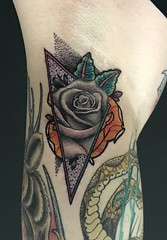 Rose in Arm pit