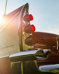 Icaraus in a DeSoto (GmanViz) Tags: gmanviz color car automobile vehicle detail nikon d7000 1958 desoto firedome sportsman taillight tailfin chrome bumper lens flare