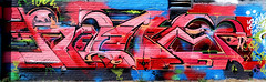 graffiti in Amsterdam (wojofoto) Tags: amsterdam nederland holland netherland graffiti streetart wojofoto wolfgangjosten ndsm