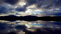 Á Ónefndavatni (skolavellir12) Tags: iceland veiðivötn reflection sun water lake trout fishing clouds jóhannsson magnús ngc