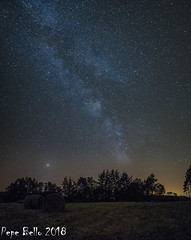 Milky Way (pepe_bello) Tags: panorama milkyway vialactea nocturna galicia