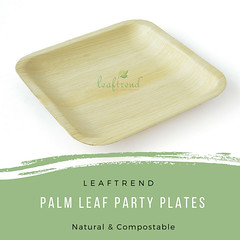 Palm Leaf Party Plate - Leaftrend (palmleafecofriendlyproducts) Tags: arecaplates etsy etsyshop ecofriendly palmleafplates natural wedding party