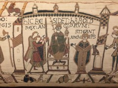 Bayeux Tapestry: 30 (DrBob317) Tags: france normandy bayeux bayeuxtapestry