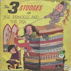 3 Stooges 78RPM ( Peter Pan Records 1964 ) (Donald Deveau) Tags: 78rpm record peterpanrecords vinyl childrensrecords 3stooges thethreestooges