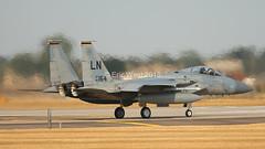 86-0164/LN F-15C EAGLE USAF (MANX NORTON) Tags: f22 raptor f35 lightning f15 eagle f16 falcon raf lakenheath 860164ln f15c usaf