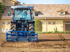 Work (dayonkaede) Tags: agriculture plow work house soil olympusem1markii olympus m40150mm f28