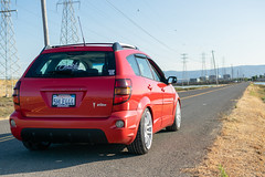 DSC_0762 (jaytotheveezy) Tags: pontiac vibe base lava red 1zz work crkai kiwami ultimate bcracing coilovers toyo tires genvibe