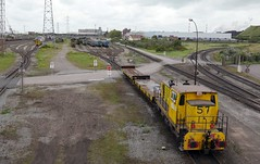 Railway Fort-Mardyke (radio53) Tags: france nord dunkerque dunkirk transport train railway locomotive mardyke industrial industry