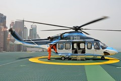 B-MHI AgustaWestland AW139 at Hong Kong, China (yyzgvi) Tags: bmhi agustawestland aw139 east asia airlines limited macau hong kong shun tak centre heliport helicopter sky shuttle helicopters