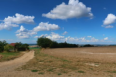 Landscape near the town of Hořice (ZdenHer) Tags: landscape hořice field czechrepublic clouds canonpowershotg7xmarkii
