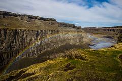 Island Nord2018_343Dettifoss (schulzharri) Tags: island iceland europe europa river sun north nord sky travel rainbow regenbogen
