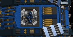 o12 moose homing tank(inside of turret) (demitriusgaouette9991) Tags: lego military army ldd armored powerful missile vehicle cannon tank turret deadly cockpit