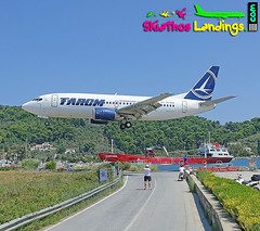 "YR-BGD Boeing 737-300 Tarom • <a style=""font-size:0.8em;"" href=""http://www.flickr.com/photos/146444282@N02/43628664031/"" target=""_blank"">View on Flickr</a>"