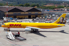 DHL 757-200PCF (Grand Tour livery) (Martyn Cartledge / www.aspphotography.net) Tags: 757200pcf aeroportodinapolicapodichino aero aeroplane air aircraft airfield airline airliner airplane airport aviation boeing civil dhlaviation flight fly flying flywinglets gdhkk hairforceone jet naples naplesairport plane transport wings wwwflywingletscom wwwaspphotographynet asp photography
