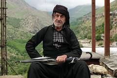 DSC05168 (Dirk Rosseel) Tags: kurd kurds kurdish people portrait uwramantakht howraman valley iran iranian umbrella