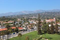 Santa Barbara, CA (russ david) Tags: santa barbara ca california ynez mountains june 2018 courthouse view architecture