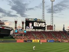 Elvis Night at Great American Ball Park (primemover88) Tags: cincinnati reds mlb elvis