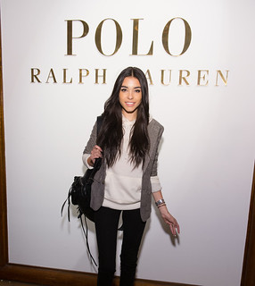 Madison Beer at Ralph Lauren