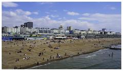 Brighton, England [1417] (my.travels) Tags: brighton england beach seaside travel shore coast sea unitedkingdom greatbritain olympus penf britain city