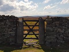 Gate to Beamsley Beacon (katy1279) Tags: beamsleybeaconwharfedaleyorkshiregatesunsummerdrystonewall