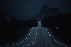 Midnight drive (debamalya.chatterjee) Tags: landscape landscapes road mountain nature nikon travel alaska