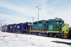 Norfolk & Western #2008 (Jim Strain) Tags: jmstrain train railroad railway locomotive diesel illinoisterminal nw