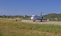 JSI/LGSK: TusAir Fokker F100 (F-28-0100) 5B-DDD (Roland C.) Tags: airport skiathos greece