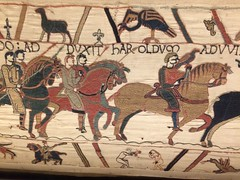 Bayeux Tapestry: 13 (DrBob317) Tags: france normandy bayeux bayeuxtapestry