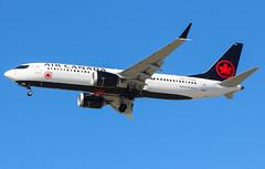 C-FSEQ Air Canada Boeing 737-8 MAX@YVR 07Aug18 (Spotter Brandon) Tags: cfseq aircanada newlivery boeing 7378 7378max yvr cyvr vancouver
