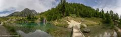 Lac Bleu (Unliving Sava) Tags: laroussette wallis summer zwitserland mountains têtedutronc schweiz alps hiking switzerland lacbleu valdhérens lake valais alpen suisse