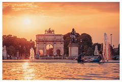 Street PARIS Louvre museum Sunset (Carlos Pinho Photography) Tags: street paris louvremuseum sunset canon canonfrance