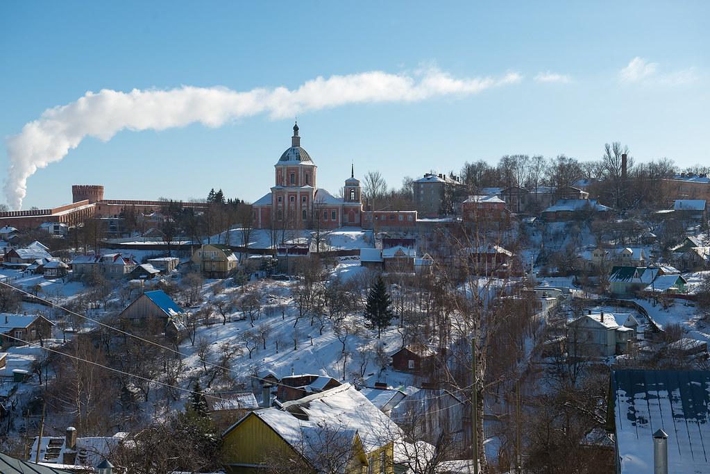 фото: Зимний Смоленск
