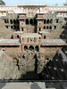 chand baori stepwell (5) (kexi) Tags: rajasthan india asia abhaneri chandbaori steep steps stepwell well ancient old geometry pattern samsung wb690 deep vertical february 2017 instantfave
