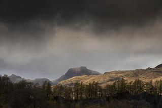 Stormy Skies, Langdale Pikes, Lake District