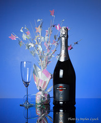 Day 200 (sly50) Tags: sly50 365project 365 project 2018 365photoproject bottle celebration champagne tabletop stilllife blue