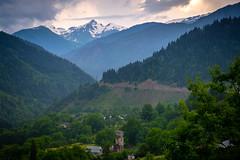 Caucasus Mountains near Mestia, Georgia (CamelKW) Tags: georgia june2017 caucasus mountains mestia