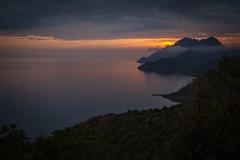 Monte Senino (Arnaud Grimaldi) Tags: monte senino porto corse corsica golfe sunset coucher soleil