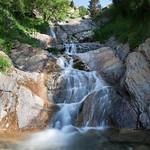 A small waterfall @ Barranco del Ampriu, Cerler, Huesca thumbnail