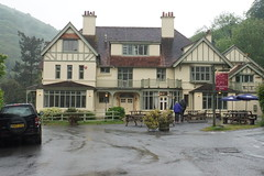 Hunters inn, Heddon Valley (Bill Boaden) Tags: exmoor mist northdevon pub gbg2018