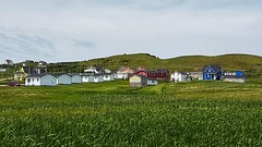 Day 2 - Community of Bassin viewed from our campsite (Bobcatnorth) Tags: lesilesdelamadeleine magdalenislands quebec canada summer 2018 cycling velo bicycle bicycling cycletouring bicycletouring touring tourdevelo gulfofstlawrence