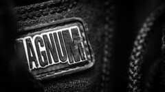 MAGNUM (CarnivoreDaddy) Tags: macro closeup abstract blackwhite bw monochrome bored paraphernalia nikon d7000 tamron tamron60mmf2 handheld lightroomcc magnumboots magnum canvas lace footwear tactical prepared