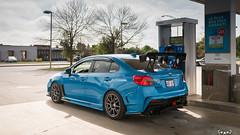 IMG_2221 (PedoJim) Tags: subaru wrx sti varis blue ivy nextmod turbo ej25 wing racecar lachute quebec montreal brembro bakemono track car