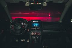 Bosphorus View at Night (WeekendPlayer) Tags: red light bridge bosphorus sea seaside ocean water reflection city night lights longexposure dark boat ship car vehicle view landscape cool tr turkey istanbul